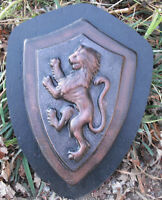 Lion wall plaque medallion mold concrete mold plaster mould