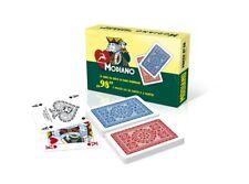Carte da Gioco Ramino Poker 98 due mazzi da 54 Modiano 300254