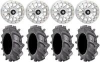 "STI HD A1 Beadlock 14"" Wheels Machined 30"" BKT AT 171 Tires Textron Wildcat XX"