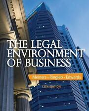 The Legal Environment of Business by Al H. Ringleb 15th Edition