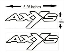 POLARIS AXYS SMALL decal GRAPHICS SWITCHBACK RUSH 800 600 PRO S X AXYS 120 137