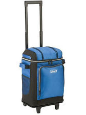 Coleman 42 Can Wheeled Soft Cooler with Telescoping Handle, Blue | 3000001309