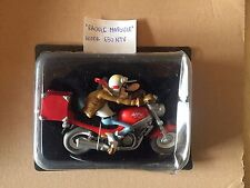 "DIE CAST JOE BAR TEAM "" JOE BAR RAOULE MAPOULE HONDA 650 NTV  ""  SCALA 1/18"