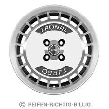 4 x Alufelge Ronal R10 7,0x15 ET28 schwarz-frontkopiert