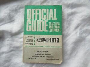 1973 Official tractor guide Nebraska test John Deere 4630 Oliver Ford MF Farmall