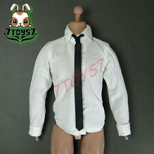 Wild Toys 1/6 Wt024 Agent James Black Set_ Shirt + Tie _Modern 007 Now Wt029E
