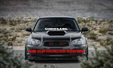 Subiegang Windshield decal car sticker banner graphics window for/fit Subaru car