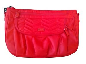 Lug Poppy Red Mambo purse Vegan medium crossbody bright red