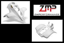 NEW SUZUKI LT230S LT230E LT230 WHITE PLASTIC FRONT AND REAR FENDER SET PLASTICS