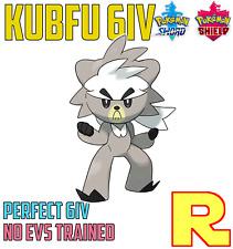 6IV KUBFU ?? (+ITEM!) ?? for Pokemon SWORD & SHIELD ????