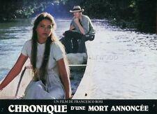 ORNELLA MUTI RUPERT EVERETT CHRONIQUE D'UNE MORT ANNONCEE  1987 LOBBY CARD #1