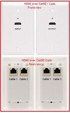 Premium Gold Series HDMI Extender over CAT5E / CAT6 Wallplate HDMI-R-PL1