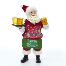 "Kurt Adler 11"" Fabriche Beer Santa Table Piece, Fa0107"