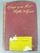 KINGS OF THE ROD RIFLE & GUN by THORMANBY H/B 1901 HUTCHINSON & CO *UK £3.25*
