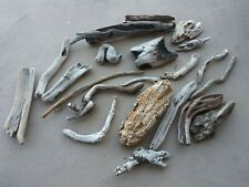 """PACIFIC OCEAN 3""""-10""""SUN-DRIED DRIFTWOOD Large Lot of 21 CAVE AQUARIUMS REPTILES"""