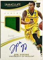 2015 Immaculate Joe Young On-Card Auto RC /99 RPA Oregon Ducks Pacers Autograph