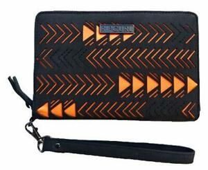 Rip Curl ECLIPSE RFID OS LEATHER WALLET Travel Passport Purse New - LWLBR1 Black