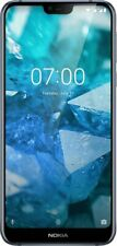 "Brand New NOKIA 7.1 Steel TA-1085 Dual SIM 64GB 5.8"" Android 9 Smartphone In Box"