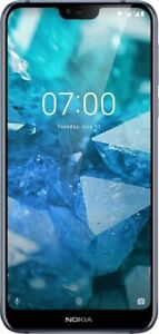 "NOKIA 7.1 Blue TA-1096 64GB 4GB 12MP 5.84"" Android 9 Smartphone Open Box"