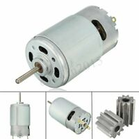 12V 30000RPM Electric Motor Gear Box W/ 2 Gears For Kids Ride On Car Toy  P