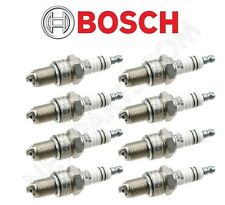 New Set of 8 Spark Plugs Bosch For Mercedes R107 560SL 380SLC 450SL