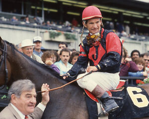 1986 Champion Racehorse Jockey BILL WILLIE SHOEMAKER Glossy 8x10 Photo Print
