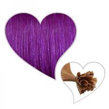 25 Meches #lilla 60 cm, Premium 1 Grammo Extensions capelli, viola Extensions