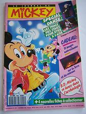 LE JOURNAL DE MICKEY N° 1950 DE 1989 . COMPLET AVEC FICHES A COLLECTIONNER .