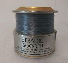 Shimano Stradic 5000 FH spool 5000fh fishing reel part great shape see pics (23)