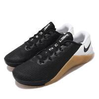 Nike Metcon 5 V Black White Gum Men CrossFit Cross Training Shoes AQ1189-009