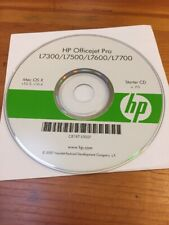HP Officejet Pro L7300 L7500 L7600 L7700 Mac OS X 10.3 10.4 Software Disc CD