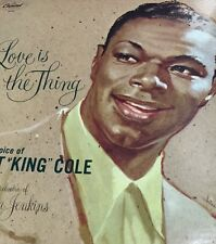"NAT "" KING"" COLE - LOVE IS THE THING - CAPITOL SM 824 Vinyl LP"