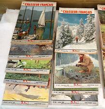 lot 9 chasseur français  ancien année 1956 (792)