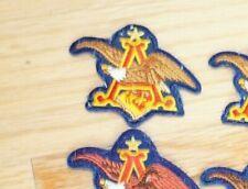 Vtg ANHEUSER-BUSCH Eagle Patch Sew On Budweiser Beer Biker PATCH