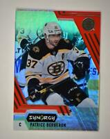 2020-21 UD Synergy Red Bounty Code #42 Patrice Bergeron - Boston Bruins