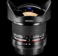Fisheye obiettivo 8mm 3,5 per Canon 650d 1100d 1000d 550d 500d 600d 450d 60d 7d