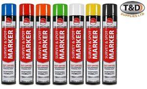 Line Marker 750ml Aerosol Spray Paint Car Park Sports Field Road highway