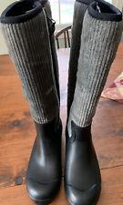 The Original Muck Boot Company Black Women's Corduroy Muck/Rain Boots size 8