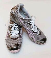 Asics Womens Pink & Gray Gel Diva Track GQ80A Running Shoe Sz 9