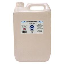 Distilled Water - 5 Litre (5L) - Pure Steam Distilled - 0ppm