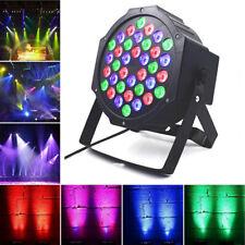 36W 4PCS RGB 36LED Par Stage Party Club Lighting DMX Color Mixing Wedding