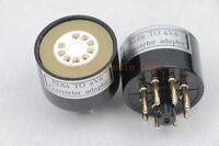 1pc EL84 6BQ5 6P14 instead 6V6 tube converter adapter