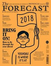 Monocle Magazine The Forecast Issue 3 January 2016 UK