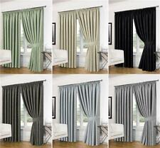 Blackout Fabric Tape Top Curtains & Pelmets