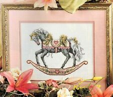 ✔️ Teresa Wentzler Regal VALENTINE ROCKING HORSE Sweetheart Cross Stitch Chart