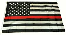 Thin Red Line USA American Flag Firefighters Emergency 3x5 Feet Banner Flag