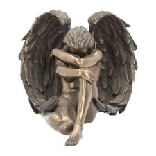 More details for angels despair figure by nemesis now bronze finish willow hall range (wh20089)