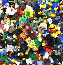 LEGO GRAB BAG! 10 MINIFIGURES ALL W/ ITEMS GREAT VARIETY PEOPLE STAR WARS & MORE