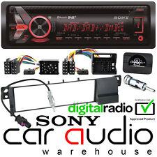 BMW 3 Series E46 Sony DAB CD MP3 USB Auto Stereo & sterzo Kit ruota di interfaccia
