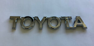 Toyota Badge Tailgate Chrome 115mm